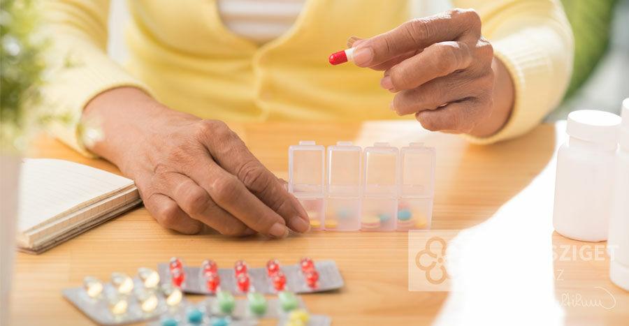 A gyógyszeradagoló a praktikusságán túl biztonságot ad