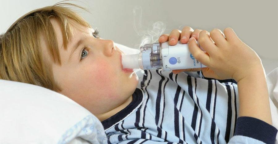Inhalátor salvusvízzel kicsiknek és nagyoknak