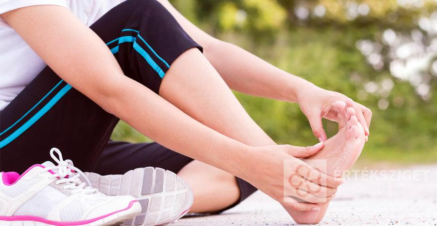 Lábfájdalomra a talpbetét jó megoldás lehet