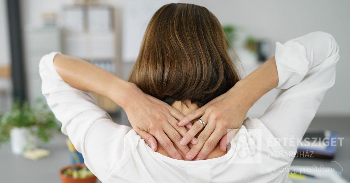 Klasszikus irodai betegségek 4. - A nyakizmok merevsége - Értéksziget Webáruház