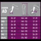 Maxis Relax 70 den-es kompressziós térdfix 15-18 Hgmm, AD, nero, XXL