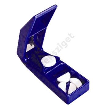 Tabletta felező és tároló (gyógyszervágó)