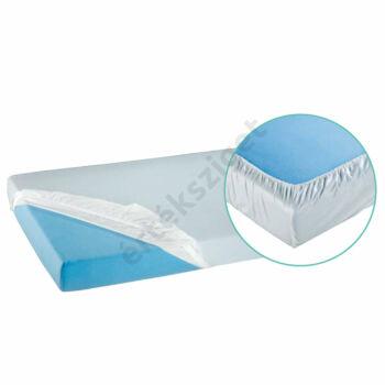 PVC matracvédő lepedő kőrgumival 200x100 cm, fehér