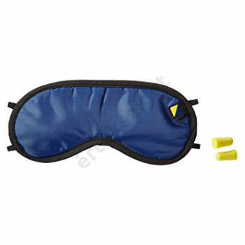 Szemtakaró alváshoz + füldugók (Travel szemmaszk, kék)