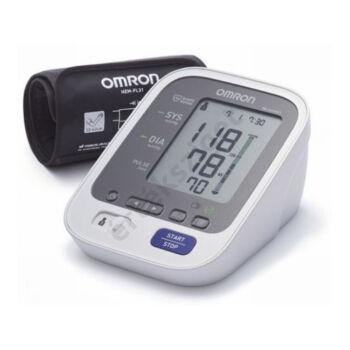 Omron M6CC Confort automata felkaros vérnyomásmérő okos mandzsettával