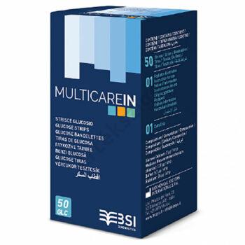 Multicare IN vércukor tesztcsík 50 db.