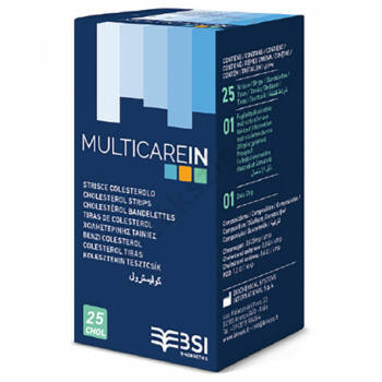 Multicare IN koleszterin tesztcsík 25 db.