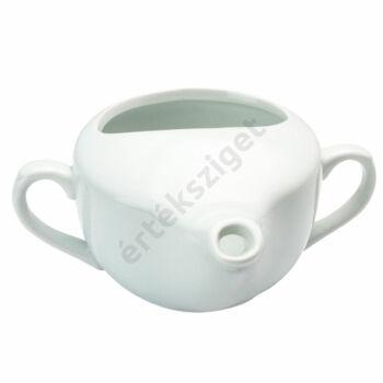 Betegitató porcelán csésze 2 füllel, Behrend