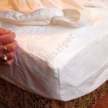 Vízhatlan körgumis antiallergén matracvédő frottírlepedő, Sabata, 140x200 cm