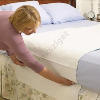 Matracvédő haránt szegett frottírlepedő, Sabata ágyvédő 140x100 cm