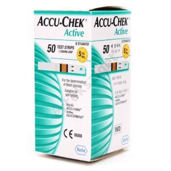 Accu-Chek Active vércukor tesztcsík 50db/doboz