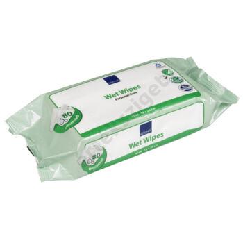 Abena nedves bőrtisztító törlőkendő felfekvés kezelésére is, 80db, 18x20cm