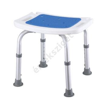 Tusolószék állítható magasságú csúszásmentes felülettel és lábakkal, kék, Prim