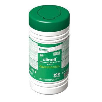 Clinell univerzális fertőtlenítőkendő 20x25cm, 100db