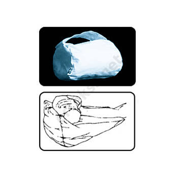 Gyógypárna, kishenger, GYOPÁR S1, 10x15cm (kézre, lábra)