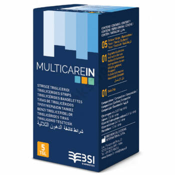Multicare IN triglicerid tesztcsík 5 db.