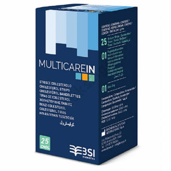 Multicare IN koleszterin tesztcsík 5 db.