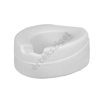 WC magasító peremes rögzítéssel, 11cm, fedél nélküli (Contact Plus Premium)