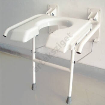 Felhajtható zuhanyülés, falra szerelhető, B-4311
