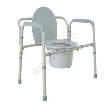 Extra teherbírású szoba wc magasságállítással, 300 kg-ig