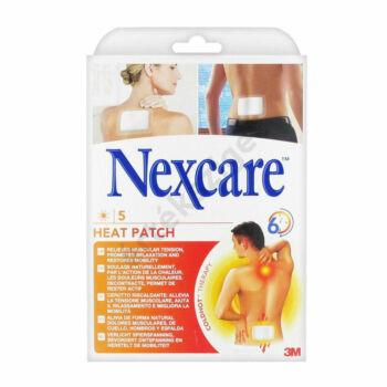 Terápiás hőtapasz fájdalomcsillapításra, 5db, Nexcare