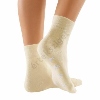 Angóra gyapjú bolyhos otthoni zokni, Bort Clima Care 106800, kék, M