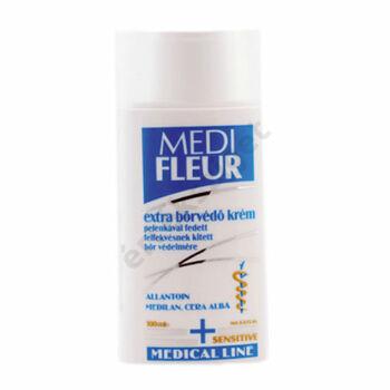Extra bőrvédő krém pelenkával fedett, felfekvésnek kitett bőrre, Medifleur, 100 ml