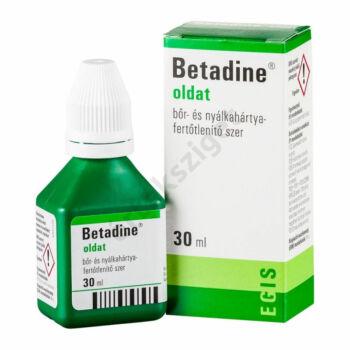 Betadine oldalt, 30ml
