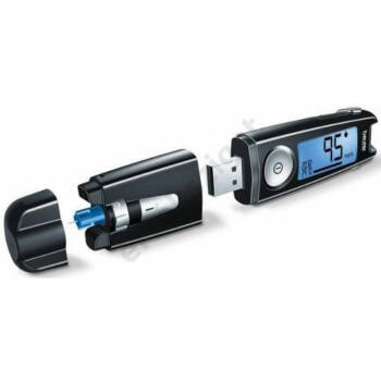 Beurer GL 50 3in1 vércukorszintmérő, fekete