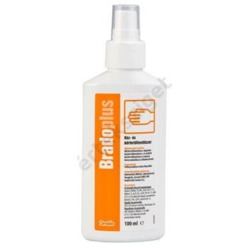 Kéz- és bőrfertőtlenítő spray, 250ml, Bradoplus