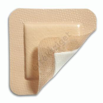 Öntapadó kötszer krónikus és akut sebekre, Mepilex Border EM 12,5x12,5cm, 10db