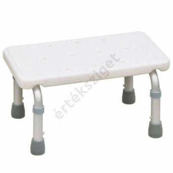 Fürdőkád belépő zsámoly állítható magasságú lábakkal, fürdőkád pad