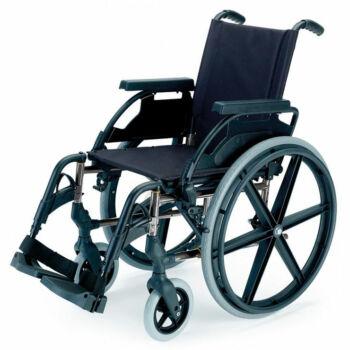 B-4200/P összecsukható önhajtós kerekesszék fix kerékkel, 40cm