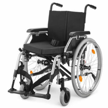 Összecsukható önhajtós kerekesszék kivehető kerékkel, Meyra Eurochair, 40cm