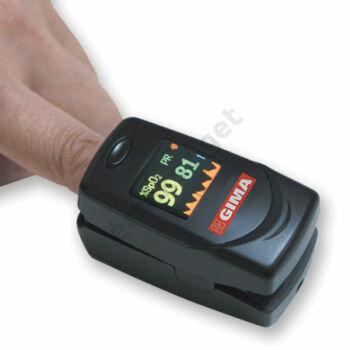 Pulzoximéter gyerekeknek, felnőtteknek riasztási szint állítással, Gima Oxy-6