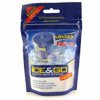 Hűsítő rugalmas kötszer, Uriel IT-801 Ice&Go pólya, 3m