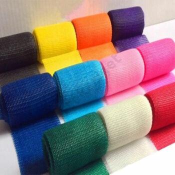 Műanyag színes gipsz üvegszállal, 7,5cm, kék