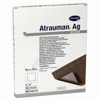 Atrauman Ag steril kenőcstüll, 10x10cm, 10db