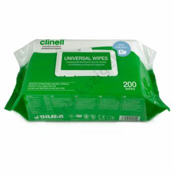Clinell univerzális fertőtlenítőkendő 20x20cm, 200db