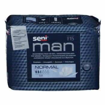 Inkontinencia betét férfiaknak, 300ml, 15db, Seni Man Normal