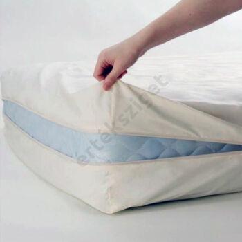 Vízhatlan matracvédő huzat cipzárral, Ki-Fü, 80x190x10 cm