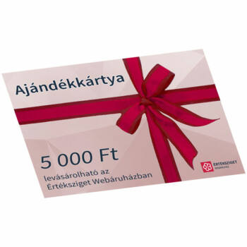 Értéksziget ajándékkártya 5000 Ft értékben